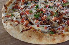 bacon ranch, ranch pizza, chicken bacon, pizzas, pizza recipes