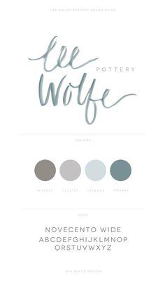 Lee Wolfe brand design || Eva Black Design