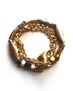 Love this wrapped bracelet!