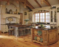 Kitchen, looks like it's from a fairytale cottage