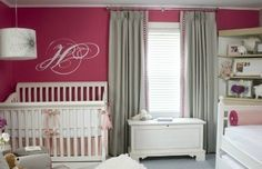 Love the wall color! Kendalls room??
