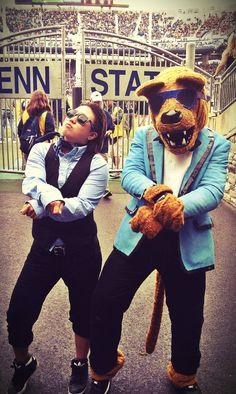 Gangnam Style Nittany Lion.