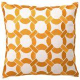 linen pillow, dl rhein, rhein mod, embroid pillow, mod link, linens, link pillow, bedroom, pillows