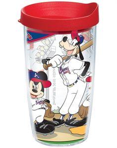 Atlanta Braves Disney Tervis-  Mickey Mouse is an Atlanta Braves fan!