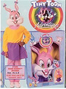 NEW Babs Bunny Tiny Toon Halloween Costume S Child Kids Heidi