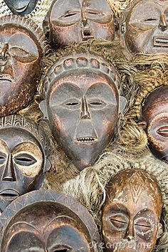 African Voodoo Masks