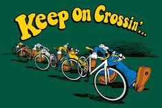 Keep On Crossin' - Crosshairs Cycling