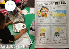 Retelling Draw and Write Details