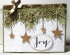 JOYFUL CHRISTMAS STARS Card KIT Created with Stampin Up & and other products