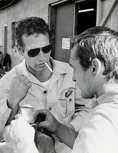 Paul Newman & Dennis Hopper