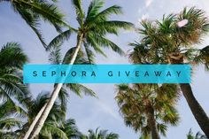 Sephora $250 GC Give