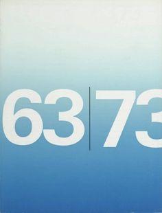 """""""De collectie van het Stedelijk Museum 1963-1973"""" Exhibition Catalog, Stedelijk Museum, Amsterdam., Designed by Wim Crouwel & Daphne Duijvelshoff, 1974"""