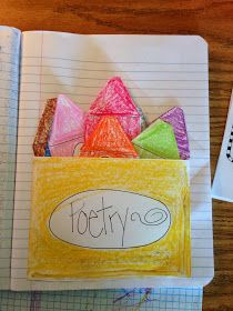 The Crayon Box That Talked | Cute for teaching kids about figurative language in poems