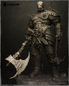 Production Challenge 1-  Frankenstein warrior