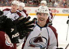 Colorado Avalanche Andre Benoit. #Movember