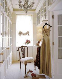 decor, idea, walkin closet, dress room, dream