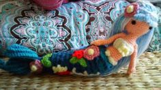 Mermaid Sighting! | Curly Girl's Crochet Etc. - pattern from Gourmet Crochet
