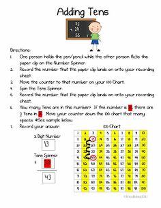 Erica Bohrer's First Grade: Math Centers
