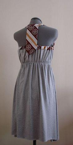 halter tie dress