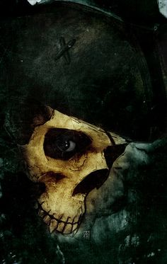 Vampire Pirate Skull by ~TheNewestRedRanger on deviantART