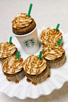 Starbucks cupcakes!!