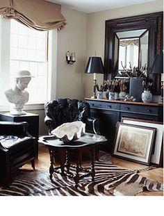 interior design, rug, zebra