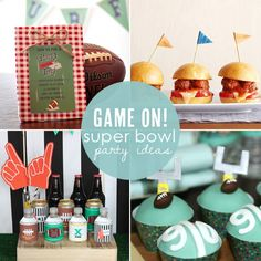 Game On: Rockin' Super Bowl Party Ideas
