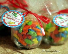 favors...except with goldfish or swedish fish