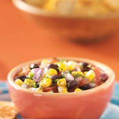 Corn 'n' Black Bean Salsa Recipe