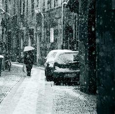 snowy..