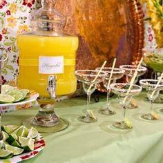 fiesta party, taco bar, margarita party, drink, cocktail, mexican party, parti idea, cinco de mayo, bridal showers