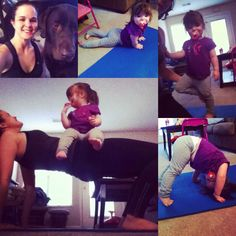 Toddler yoga :)