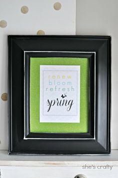 spring printable  so cute!!! It's Free!!