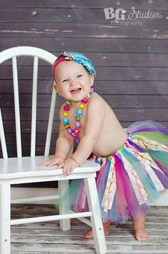 BEAUTIFUL Tutu skirt with various colors tulle and par BGStudios, $20.00