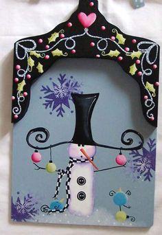 Snowman Shovel, Christmas Shovel, Holiday Decoration