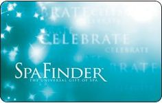 Spa Finder Celebrate Gift Card $25.00