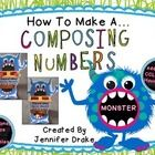 Is the thought of teaching your students about composing numbers make you want to SCREAM??!!!  If so, make a composing numbers monster to show your...