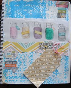 Art Journal page - Scrapbook.com by Lori Wilbanks