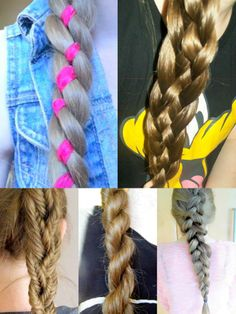 4 strand, 5 strand, fishtail, rope braid and dutch braid