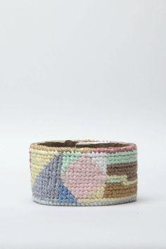 needlepoint cuff by jewelry by matt