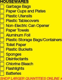emergency preparedness checklist from the Dollar Tree prepared checklist, emergency supplies, emerg suppli, dollar tree, ala surviv, dollar food, emergency preparedness for one, emergancy preparedness, emerg prepared