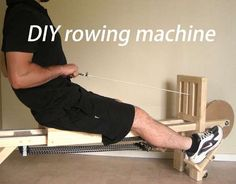 DIY Rowing Machine