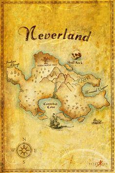 A Neverland map