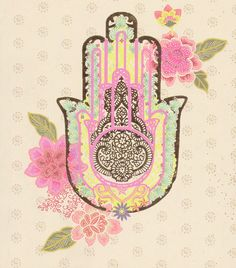 Hamsa has a special position in India's rich culture and has become one of their most sacred symbols. It came to India without changing its form or meaning. Indians call Hamsa, Humsa Hand. The five fingers in the hand of Hinduism represent the five elements of nature and the five energy centers of our body (chakra).