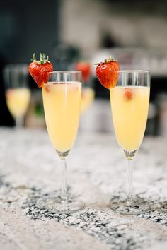 Yummy mimosas for th