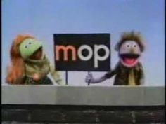 """Classic Sesame Street - Word Family """"OP"""" (Muppets)"""