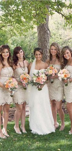 #Rustic Wedding Bridesmaids ... Wedding ideas for brides, grooms, parents & planners ... https://itunes.apple.com/us/app/the-gold-wedding-planner/id498112599?ls=1=8 … plus how to organise an entire wedding ♥ The Gold Wedding Planner iPhone App ♥