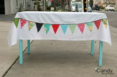 Pennant Tablecloth