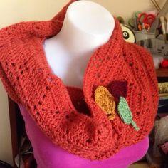 autumn #crochet cowl from cuteashook