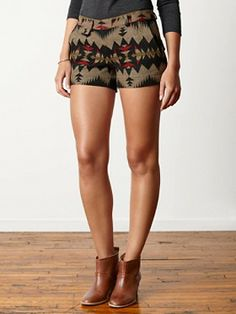 Coquille Shorts - love these shorts from Pendleton's Portland Collection